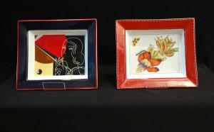 Plato Porcelana Diseño  Años 30 agotado –  Fruta  Diseños de F. Jouvin